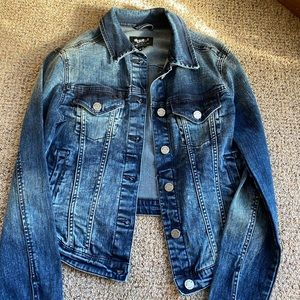William Rast fitted jean jacket